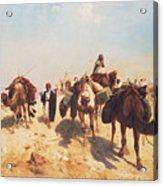 Crossing The Desert Acrylic Print