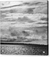 Crossing The Megler Acrylic Print