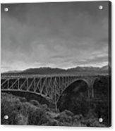 Crossing The Rio Grande Acrylic Print