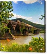 Crossing The Susquehanna Acrylic Print