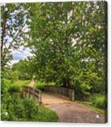 Crossing Toms Creek Acrylic Print