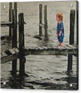 Crossing Acrylic Print