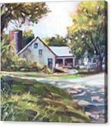 Crossroads Farmhouse Acrylic Print
