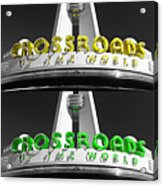 Crossroads Panorama Acrylic Print