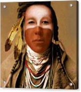 Crow Boy Acrylic Print