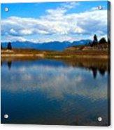 Crow Lake Montana Acrylic Print
