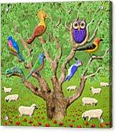 Crowded Tree Acrylic Print