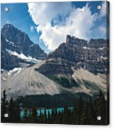 Crowfoot Mountain Acrylic Print