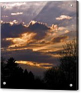 Crown Cloud Acrylic Print