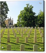 Crown Hill National Cemetery, Indianapolis, Indiana Acrylic Print