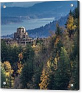 Crown Point In The Fall Acrylic Print