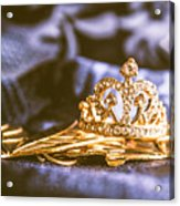 Crowned Tiara Jewellery Acrylic Print