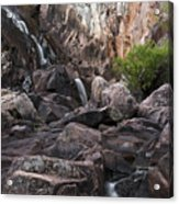 Crows Nest Falls During The Day. Acrylic Print
