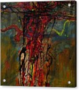 Crucified Acrylic Print