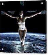 Crucified Tellus II Acrylic Print