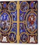 Crucifixion And Resurrection  Acrylic Print