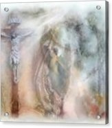 Angels Commanded To Worship Him. Acrylic Print