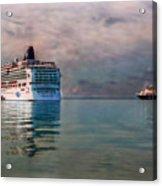 Cruise Ship Parking Acrylic Print