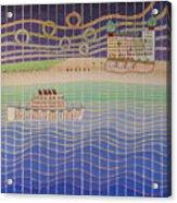 Cruise Vacation Destination Acrylic Print