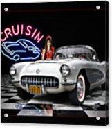 Cruisin' The Diner .... Acrylic Print