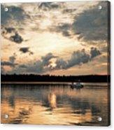 Cruising, Eagle Lake, Almaguin Highlands, Ontario Acrylic Print