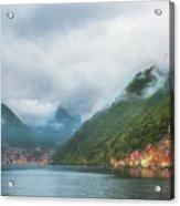 Cruising Lake Como Italy Acrylic Print