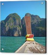 Cruising Maya Bay Acrylic Print