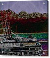 Cruising Puget Sound Acrylic Print