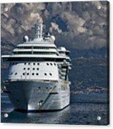 Cruising The Adriatic Sea Acrylic Print