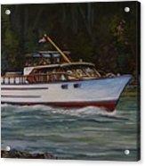 Cruising The British Columbia Gulf Islands, Canada                                       Acrylic Print