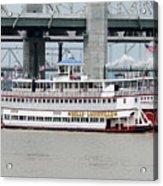 Cruising The Ohio River Acrylic Print