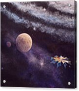 Cruising The Stars Acrylic Print