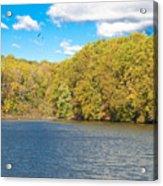 Crum Creek In Autumn Acrylic Print