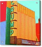 Crump Color Acrylic Print