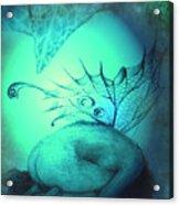 Crying Fairy Acrylic Print