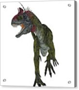 Cryolophosaurus Dinosaur Aggression Acrylic Print