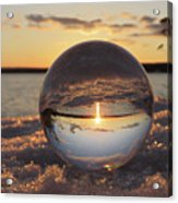 Crystal Ball  Acrylic Print