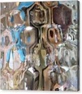 Crystal Blue Acrylic Print