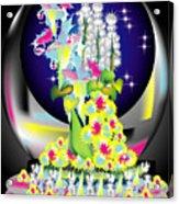 Crystal Boquet II Acrylic Print