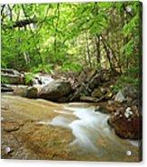 Crystal Brook - Lincoln New Hampshire Usa Acrylic Print