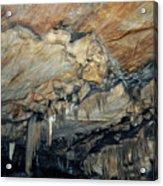 Crystal Cave Marble Acrylic Print
