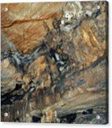 Crystal Cave Marble Portrait Acrylic Print