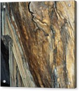 Crystal Cave Walls Acrylic Print