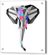 Crystal Elephant - 56 Acrylic Print