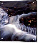 Crystal Falls Acrylic Print