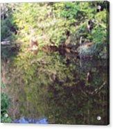 Crystal Lake Reflection Acrylic Print