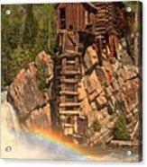 Crystal Mill Rainbow Acrylic Print