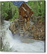 Crystal Mill Swirls Acrylic Print