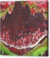 Crystal Mountain Acrylic Print