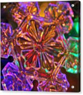 Crystal Reflections Acrylic Print